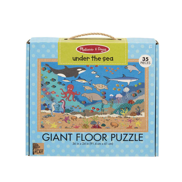 Melissa & Doug | Natural Play Giant Floor Puzzle ~ Under the Sea