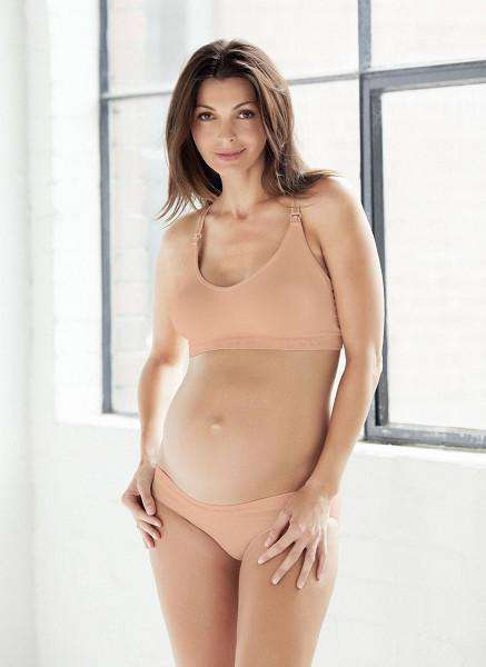 Cotton Candy Seamless Maternity/Nursing Bra | Nude