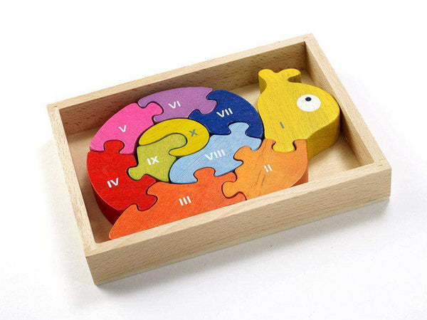 Begin Again Toys | Number Snail Learning Puzzle