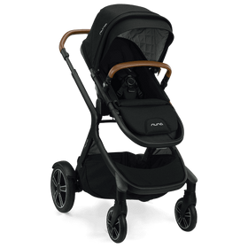 Nuna Demi Grow Stroller + adapters + raincover + magnetic buckle | Caviar