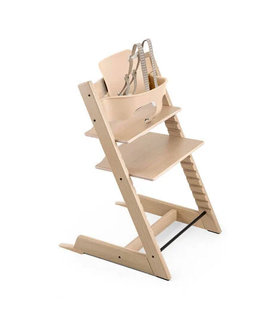 Stokke Tripp Trapp High Chair Set | Oak Collection ~ Natural