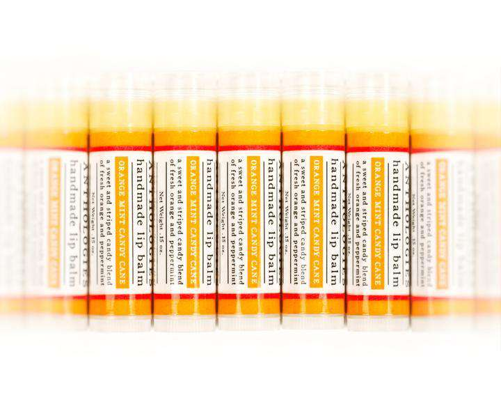 Live Beautifully - ANTHOLOGY LIP BALM - Orange Mint Candy