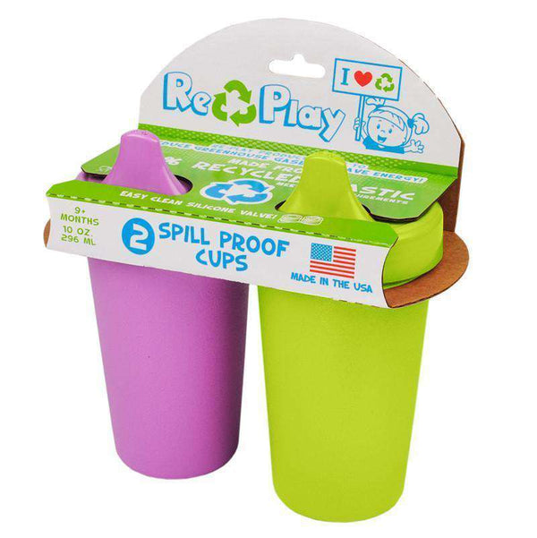 Re-Play Spill Proof Cup Sippy Cup ~ 2 Pack