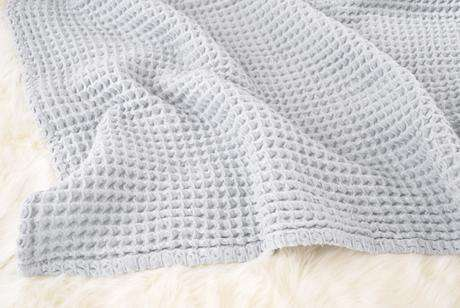 The Sugar House Cloud Blanket ~ Pale Blue