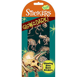 Peaceable Kingdom | Glow In The Dark Stickers ~ Dinosaurs Bones