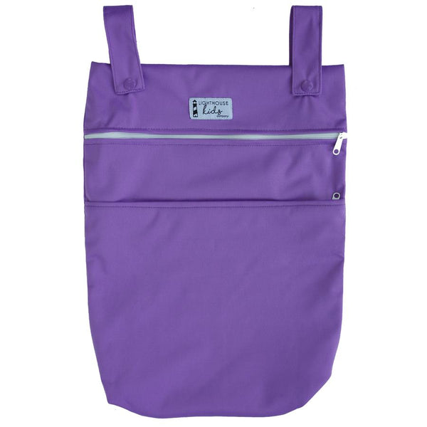 Lighthouse Kids Company | Double Pocket Medium Wetbag ~ Peacock
