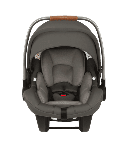 Nuna Pipa Lite LX Infant Car Seat with Base ~ Granite