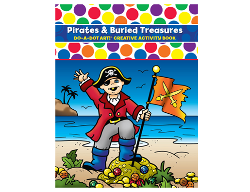 Do A Dot Art | Creative Activity Book ~ Pirates & Buried Treasures