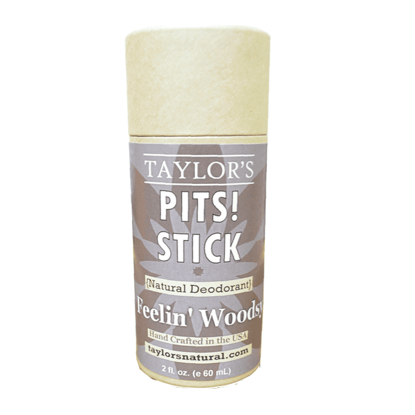 Taylor's Pits! Stick CHARCOAL | Feelin' Woodsy