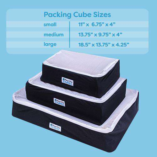 Planet Wise Packing Cube ~ Overboard