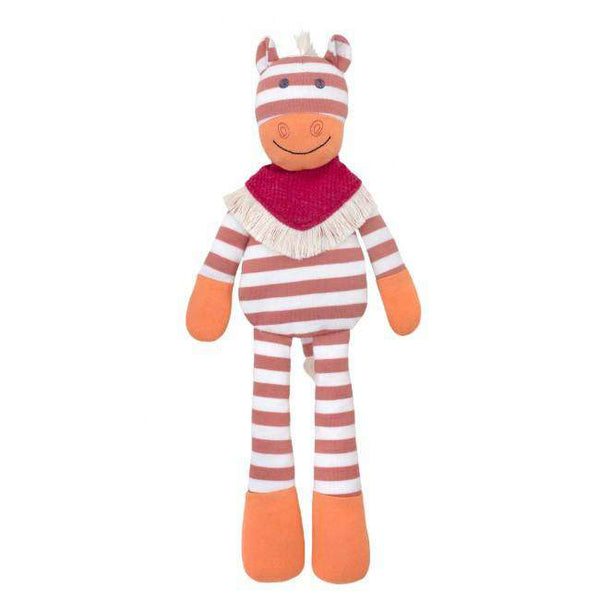 Apple Park Organic Farm Buddies Plush | Poncho Pony