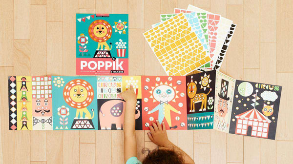 Poppik | Poster + 750 Stickers ~ Circus