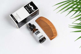 Private Stache | Beard Oil and Comb ~ Grind