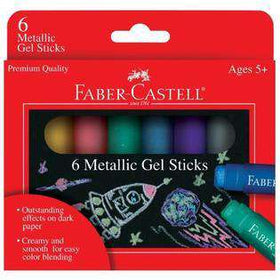 Faber - Castell | Metallic Gel Sticks - Set of 6