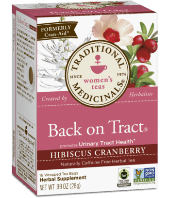 Organic Back on Tract Tea by Traditional Medicinals