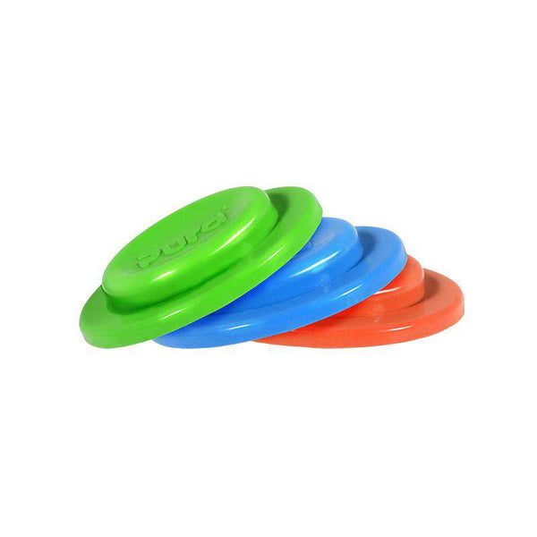 Pura Kiki Silicone Sealing Disks | 3 pack (Orange, Green, & Blue)