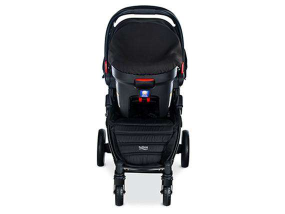 BRITAX | Pathway & B-Safe Ultra Car Seat Travel System ~ Cowmooflage