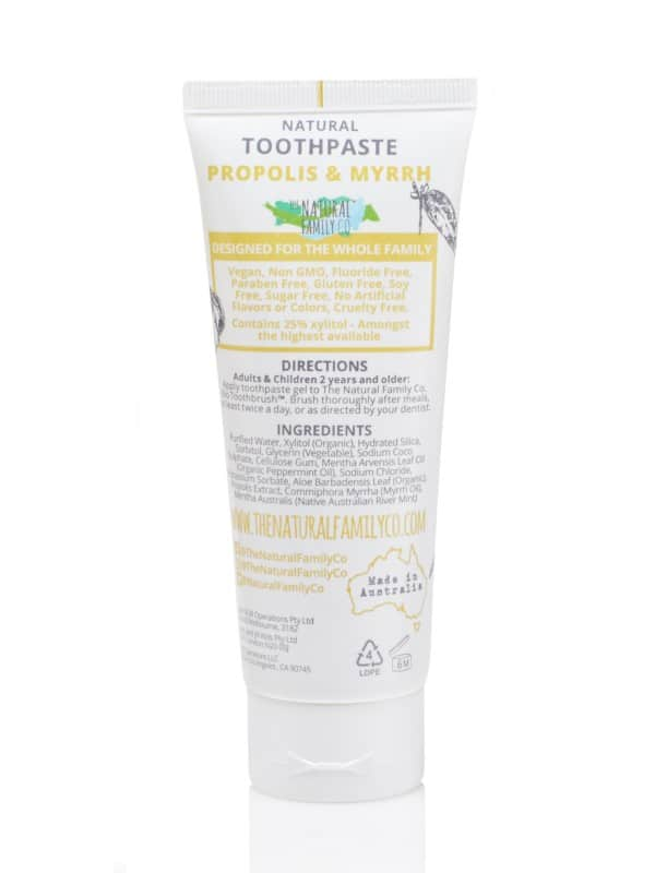 The Natural Famlily Co - Natural Toothpaste - Propolis & Myrrh (7520177153)