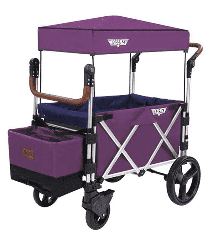 Keenz 7S Stroller Wagon | Purple