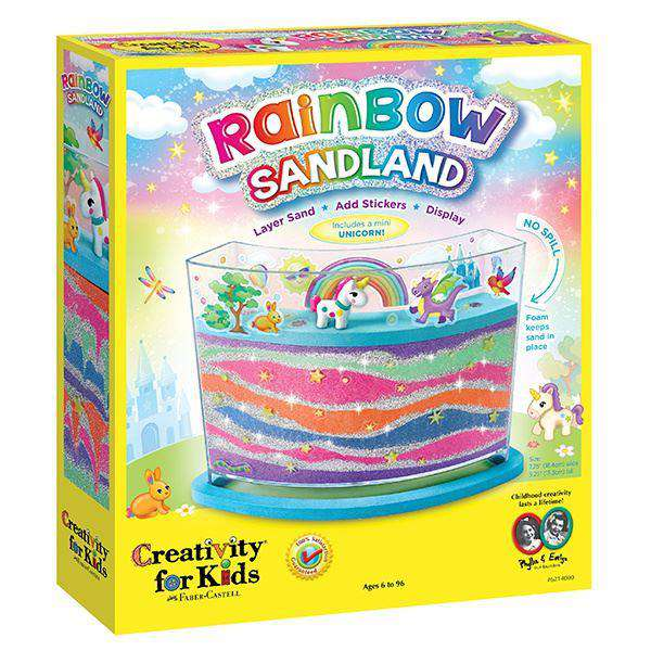 Creativity For Kids ~ Rainbow Sandland