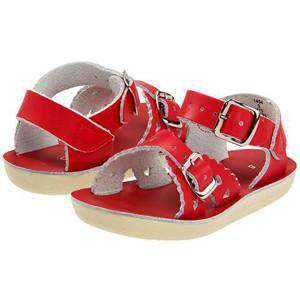 Sun-San Sweetheart Sandals | Red
