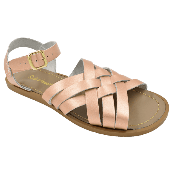 Salt Water Retro Sandal | Rose Gold (women's)