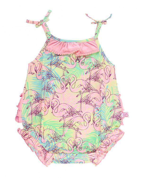 Ruffle Butts | Bubble Romper ~ Let's Flamingle