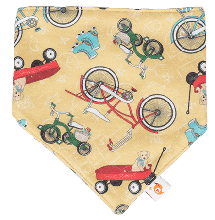 Smart Bottoms | Bandana Bib ~ How We Roll