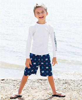 RuggedButts | Swim Trunks ~ Crabby Sailor