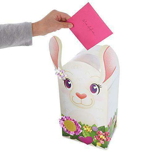 Peaceable Kingdom | Valentine Mailbox ~ Llama *final sale*