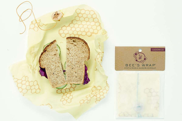 Bee's Wrap | Sandwich Reusable Wrap ~ Honeycomb