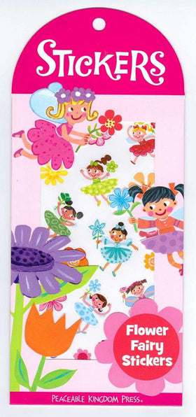 Peaceable Kingdom | Scratch & Sniff Stickers ~ Flower Fairies