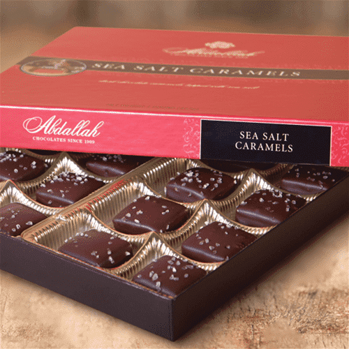 Abdallah Chocolate | Boxed Chocolate Selection ~ Sea Salt Caramels