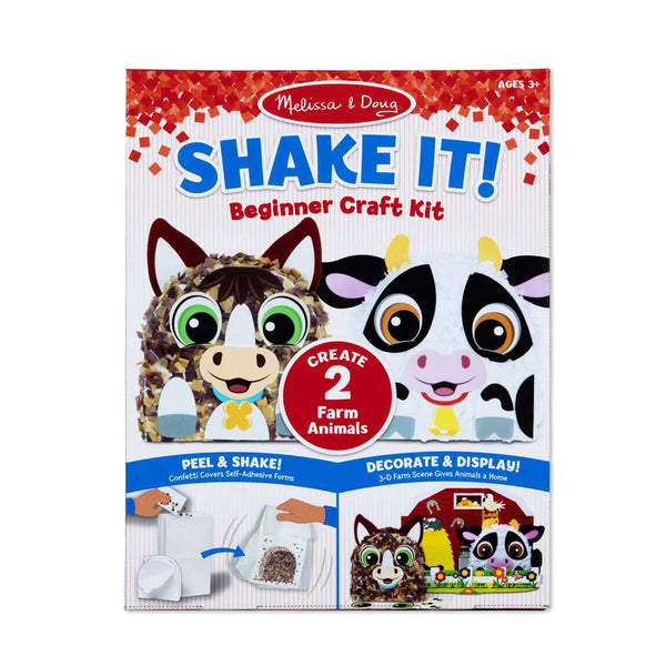 Melissa & Doug | Shake It! Farm Animals