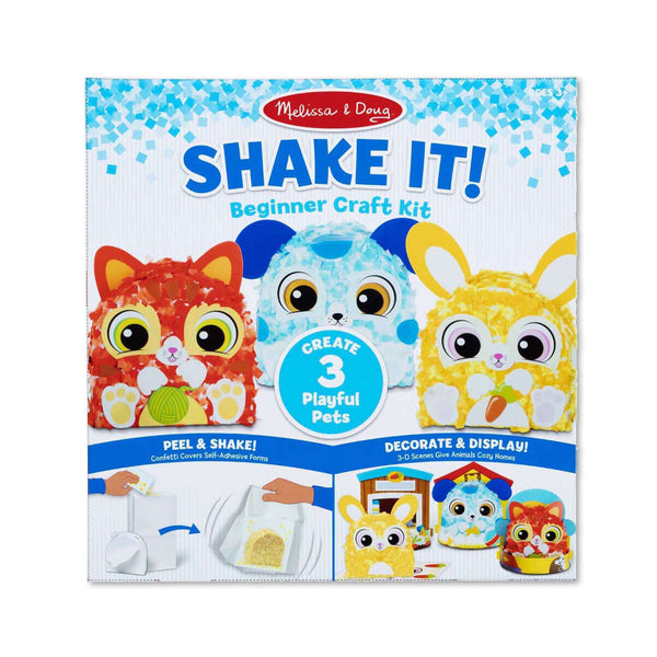 Melissa & Doug | Shake It! DELUXE Playful Pets