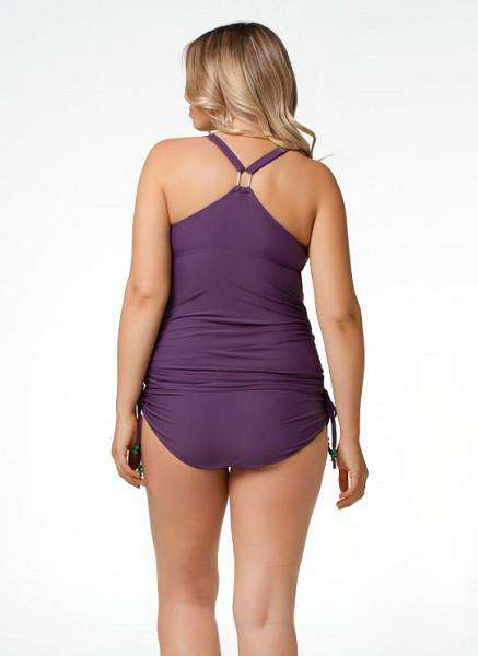 Cake Shake Tankini Set | Purple