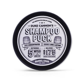 Duke Cannon - Shampoo Puck - Barrel Char NO. 004