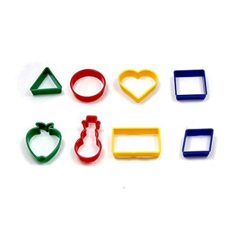 Shapes Dough cutters 8Pk