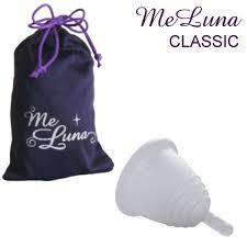 MeLuna | Classic Stem Handle Shorty Menstrual Cup