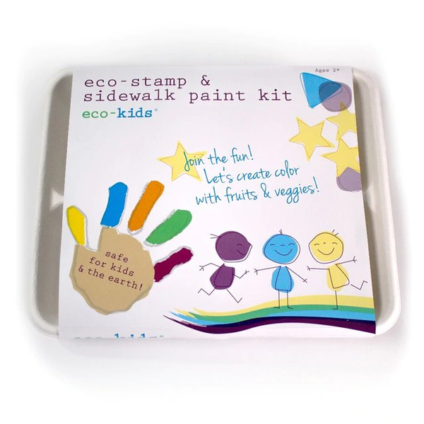 eco-kids - eco-stamp & sidewalk kit