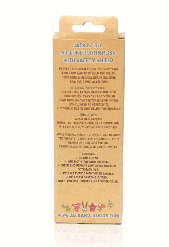Jack N' Jill Silicone Toothbrush ~ Stage Two (5674192193)