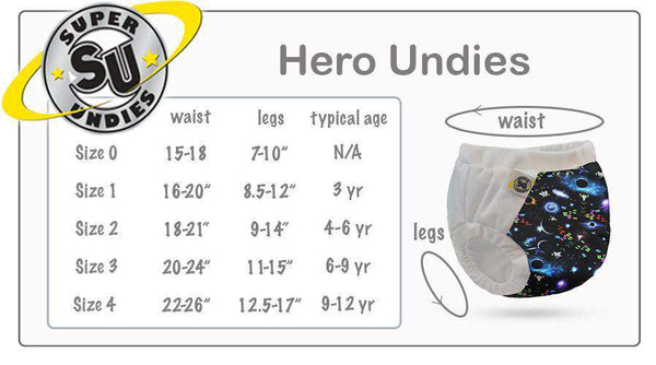 Super Undies | Hero Undies Shell - Cupcake Queen