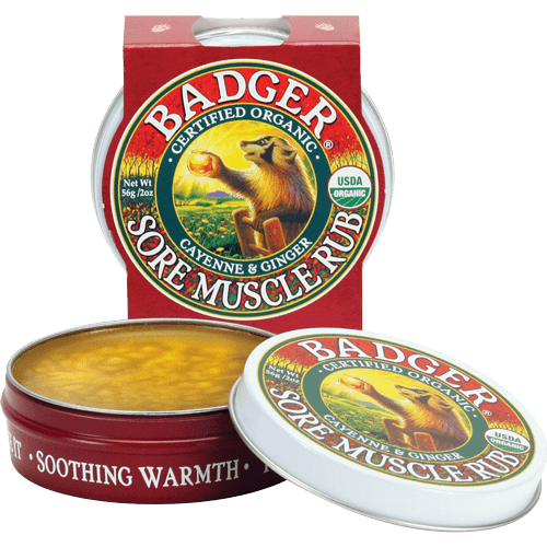 Badger Healthy Body Care ~ Sore Muscle Rub