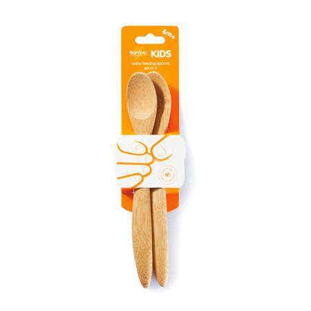 Bambu | Baby Feeding Spoons | Set of 2
