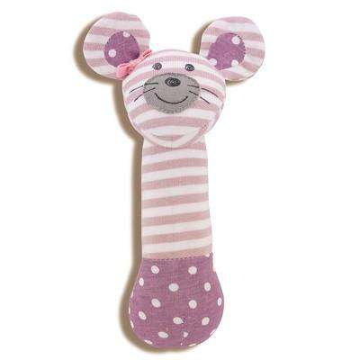 Apple Park Organic Farm Buddies Squeaky Toy | Ballerina Mouse