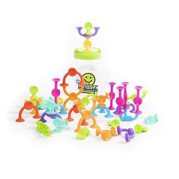 Fat Brain Toys | Squigz 2.0 - 36 piece
