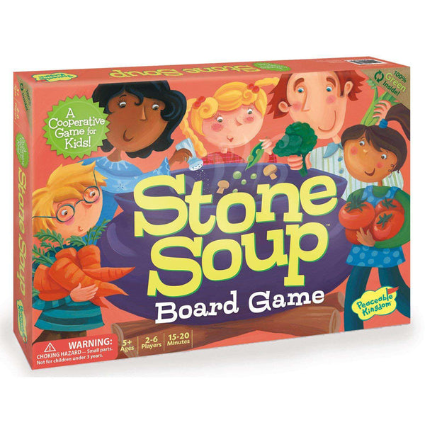 Peaceable Kingdom ~ Stone Soup Cooperative Children's Board Game