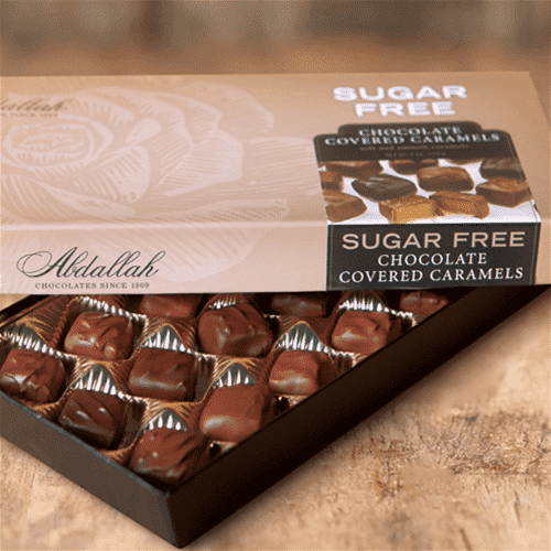 Abdallah Chocolate | Sugar Free~ Chocolate Covered Caramels