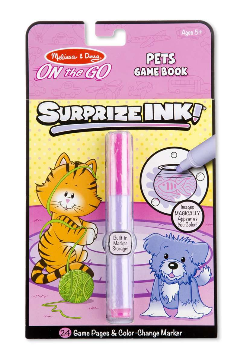 Melissa & Doug | On the Go Surprise Ink | Pets