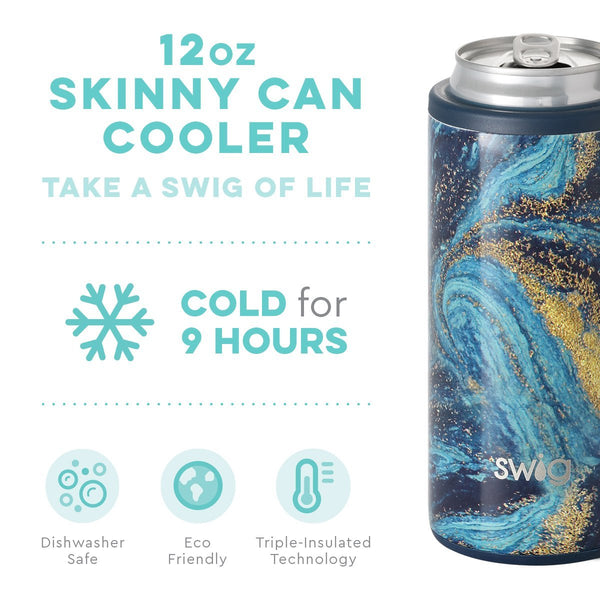 Swig Life - Starry Night 12 oz Skinny Can Cooler